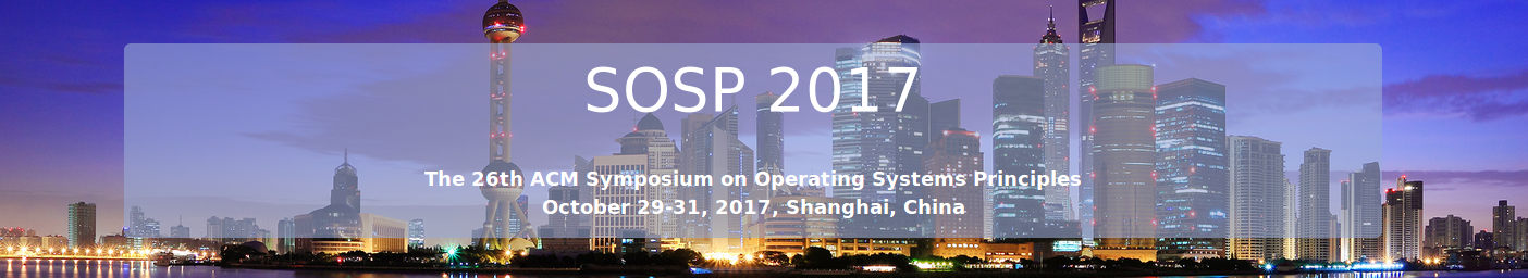 SOSP 2017
